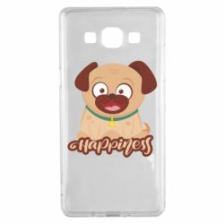 Чехол для Samsung A5 2015 Happy pug