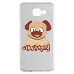 Чехол для Samsung A5 2016 Happy pug