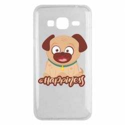 Чехол для Samsung J3 2016 Happy pug