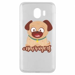 Чехол для Samsung J4 Happy pug