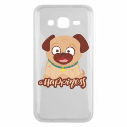 Чехол для Samsung J5 2015 Happy pug