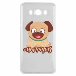 Чехол для Samsung J7 2016 Happy pug