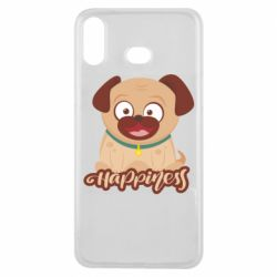 Чехол для Samsung A6s Happy pug