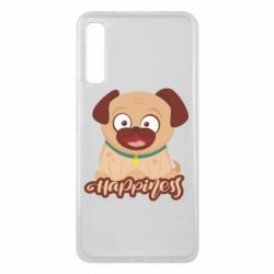 Чехол для Samsung A7 2018 Happy pug