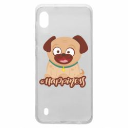 Чехол для Samsung A10 Happy pug