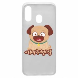 Чехол для Samsung A40 Happy pug