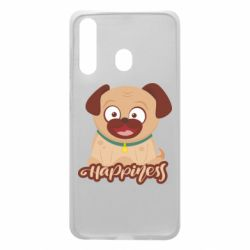 Чехол для Samsung A60 Happy pug
