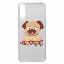 Чехол для Samsung A70 Happy pug