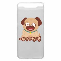 Чехол для Samsung A80 Happy pug