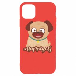 Чехол для iPhone 11 Pro Happy pug