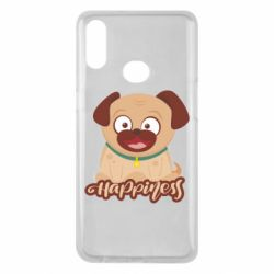 Чехол для Samsung A10s Happy pug