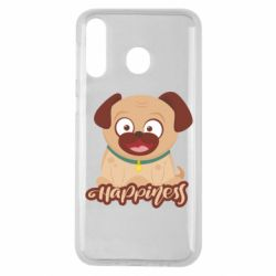 Чехол для Samsung M30 Happy pug