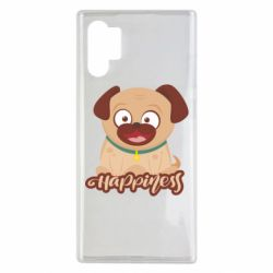 Чехол для Samsung Note 10 Plus Happy pug