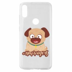 Чехол для Xiaomi Mi Play Happy pug