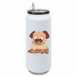 Термобанка 500ml Happy pug