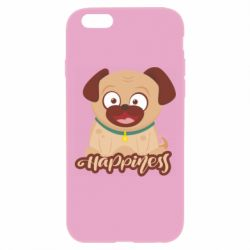 Чехол для iPhone 6 Plus/6S Plus Happy pug