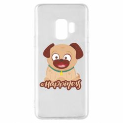 Чехол для Samsung S9 Happy pug