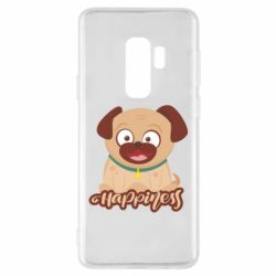 Чехол для Samsung S9+ Happy pug