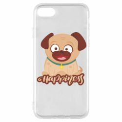 Чехол для iPhone 8 Happy pug