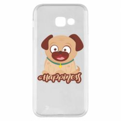 Чехол для Samsung A5 2017 Happy pug