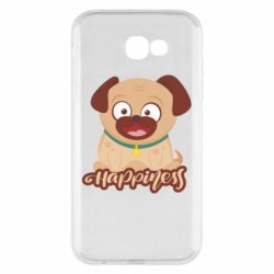 Чехол для Samsung A7 2017 Happy pug