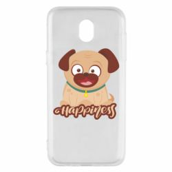 Чехол для Samsung J5 2017 Happy pug