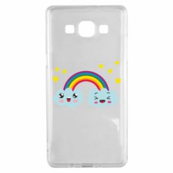 Чехол для Samsung A5 2015 Happy rainbow