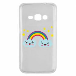 Чехол для Samsung J1 2016 Happy rainbow