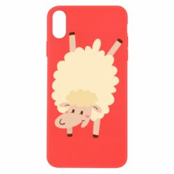Чехол для iPhone X/Xs Happy sheep - FatLine