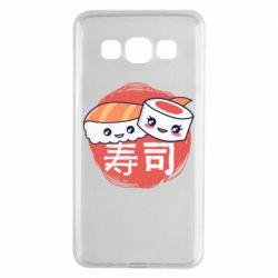 Чехол для Samsung A3 2015 Happy sushi