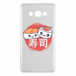 Чехол для Samsung A7 2015 Happy sushi
