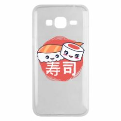 Чехол для Samsung J3 2016 Happy sushi