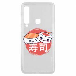 Чехол для Samsung A9 2018 Happy sushi