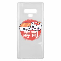Чехол для Samsung Note 9 Happy sushi