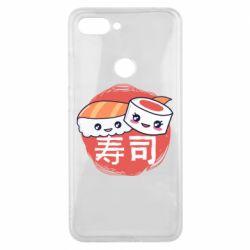 Чехол для Xiaomi Mi8 Lite Happy sushi