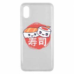 Чехол для Xiaomi Mi8 Pro Happy sushi