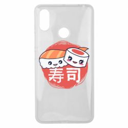 Чехол для Xiaomi Mi Max 3 Happy sushi