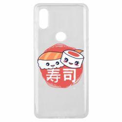 Чехол для Xiaomi Mi Mix 3 Happy sushi