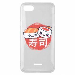 Чехол для Xiaomi Redmi 6A Happy sushi