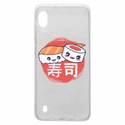 Чехол для Samsung A10 Happy sushi