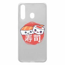 Чехол для Samsung A60 Happy sushi