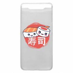 Чехол для Samsung A80 Happy sushi