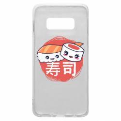 Чехол для Samsung S10e Happy sushi
