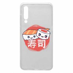 Чехол для Xiaomi Mi9 Happy sushi