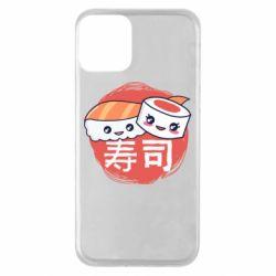 Чехол для iPhone 11 Happy sushi