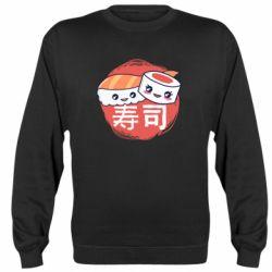 Реглан (свитшот) Happy sushi
