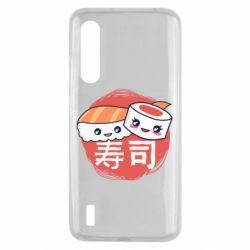 Чехол для Xiaomi Mi9 Lite Happy sushi