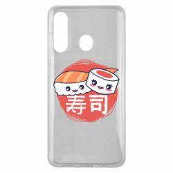 Чехол для Samsung M40 Happy sushi