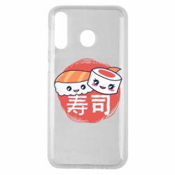 Чехол для Samsung M30 Happy sushi