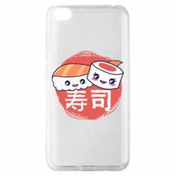 Чехол для Xiaomi Redmi Go Happy sushi